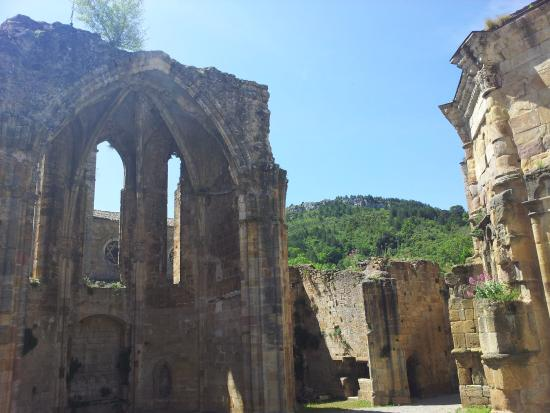 Val d'aleth: Abbey ruins