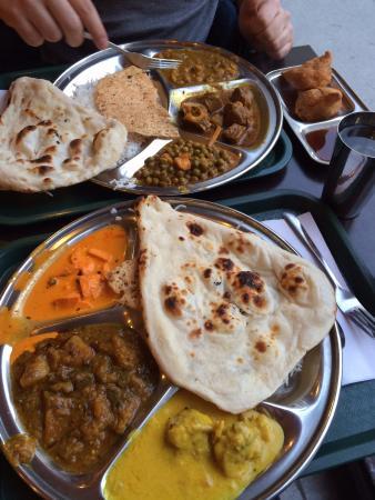 Thali Cuisine Indienne: Non-vege Thali