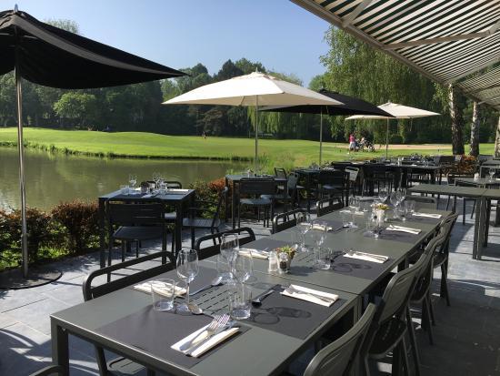 Vue sur le golf picture of restaurant du golf de brigode - Restaurant le bureau villeneuve d ascq ...