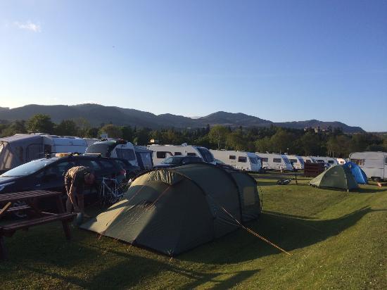 Milton Of Fonab Caravan Park Pitlochry Campground
