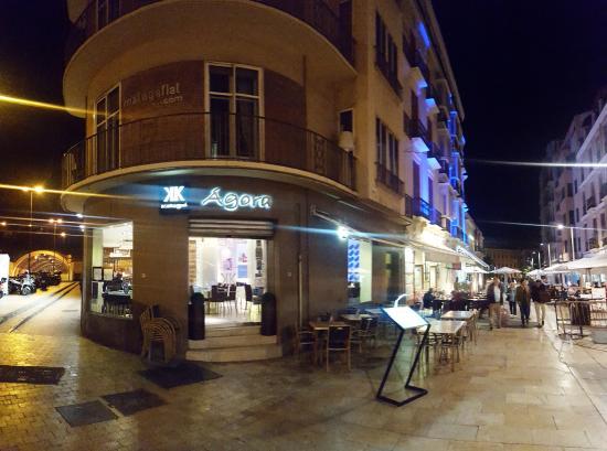Fachada del restaurante Agora.: fotografía de Katogui Agora, Málaga ...