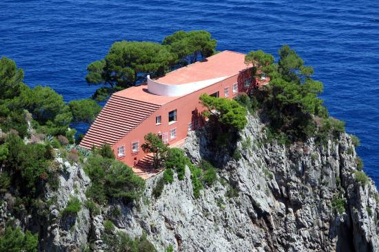 Villa Malaparte Picture Of Villa Malaparte Capri