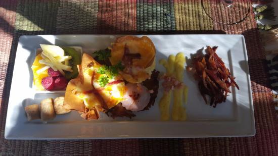 Historic Davy House B&B Inn: Gourmet breakfast