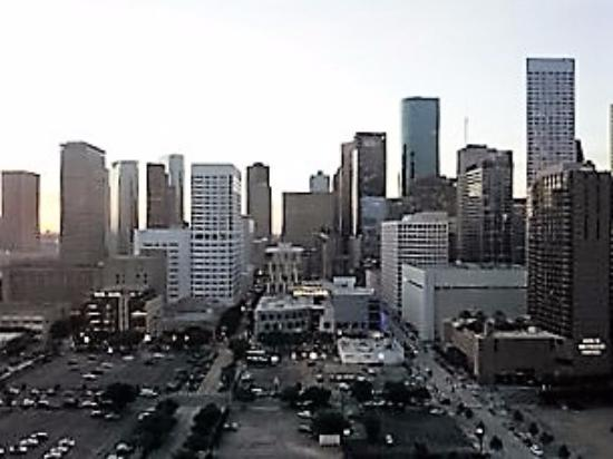 Hilton Americas - Houston: view from the bedroom