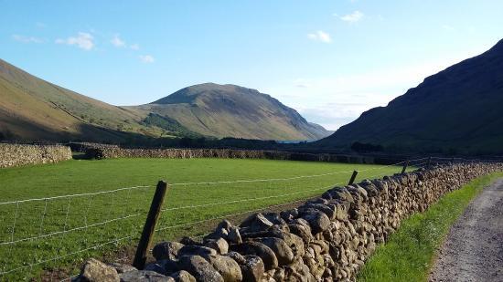Burnthwaite Farm : the views