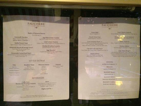 Bar Louis at Hotel Fauchere: Simple  They could have some sauce on meats