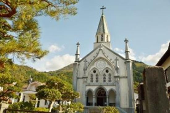 津和野カトリック教会。 - 津和...