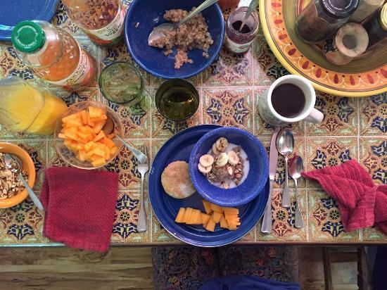 Rockville, Utah: Delicious breakfast!