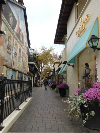 Yorkville: This is a small and cozy part of the city full of colours, stores and life.