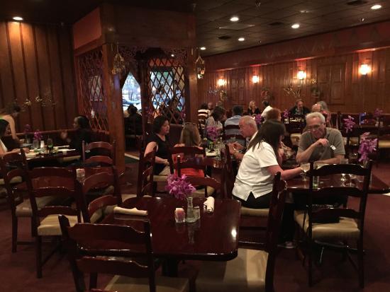 Dining Area Of Thai Restaurant