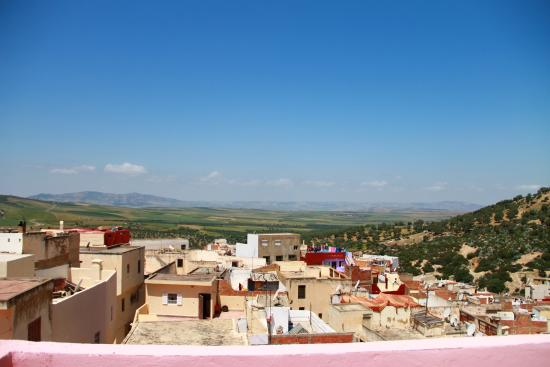 Maison D'Hote El Kasaba: Panoramic View from the highest terrace