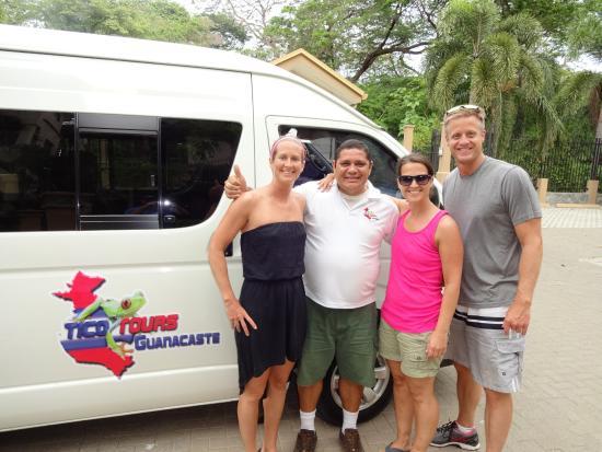 ปลายาเฮอร์โมซา, คอสตาริกา: the man...Eittel! best tour guide in costa rica!