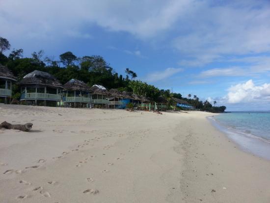 Lalomanu Beach: lalomanu fale