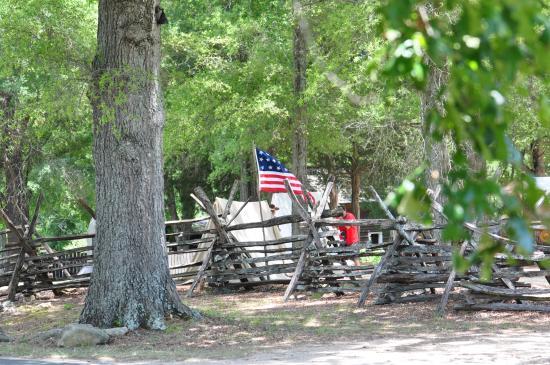 McConnells, Güney Carolina: Reenactment Camp site