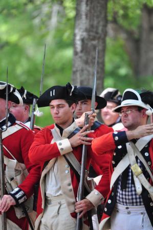 McConnells, Güney Carolina: Reenactment March