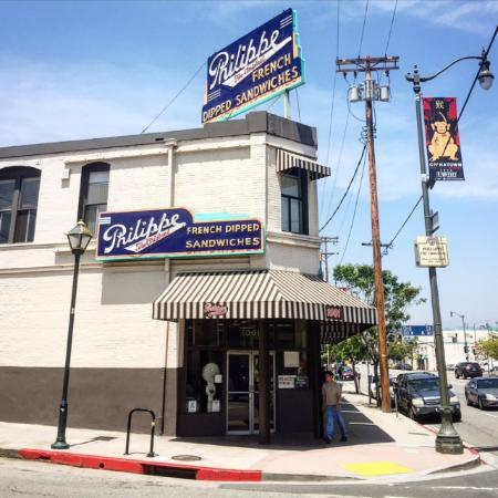 Beverly Hills, Kalifornien: Philippe, The Original French Dip Restaurant in Downtown L.A.