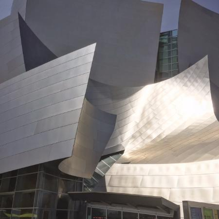 Beverly Hills, Kalifornien: The architectural masterpiece, Walt Disney Concert Hall in our Downtown Los Angeles.