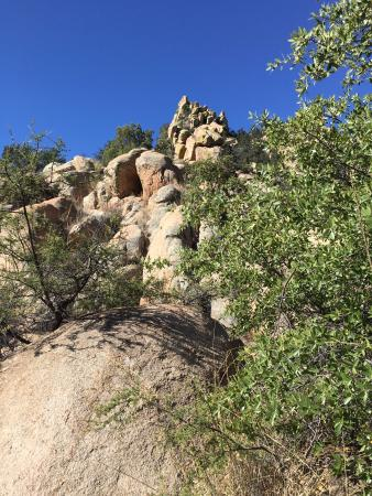Pearce, AZ : Sometimes you climb a few boulders