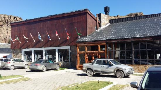 Restaurante del hotel Termas de Copahue