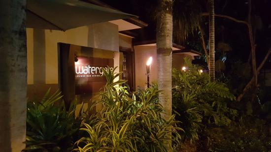 Watergate Restaurant Lounge Bar Entrance From The Street
