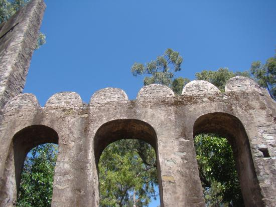 Morni Fort: The Golden Bastions: The arches
