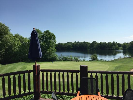 Deerwood, MN: View from the patio