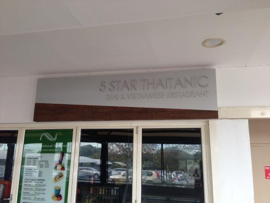 Five Stars Thaitanic Restaurant