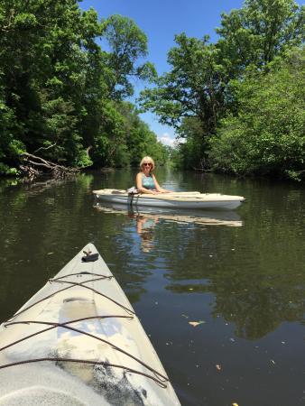 """Kinni Creek Lodge and Outfitter's : My wife and I enjoyed our time on the """"Kinni"""" for the 1st time after purchasing her kayak the we"""