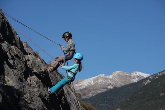 Freissinieres, Francja: Climbing - Escalade