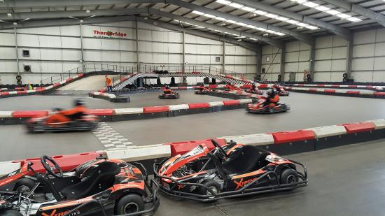 Xtreme Karting Falkirk: The race is on.