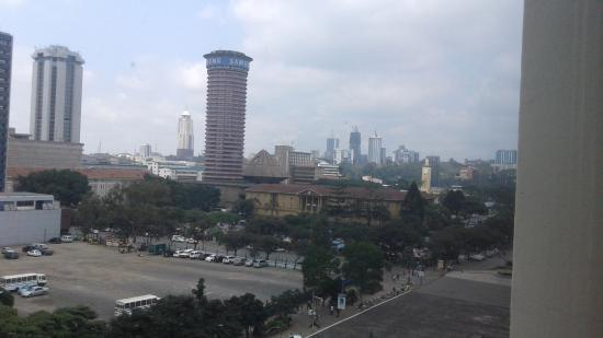 Hilton Nairobi: Iconic Tower view from room