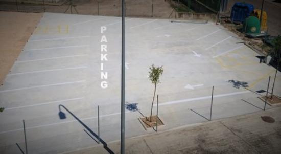 La Basílica: Parking