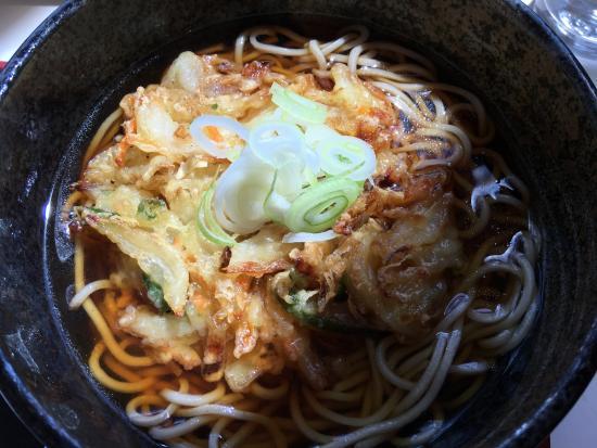 Ai Road Yuhi no Oka : お蕎麦がおいしいです
