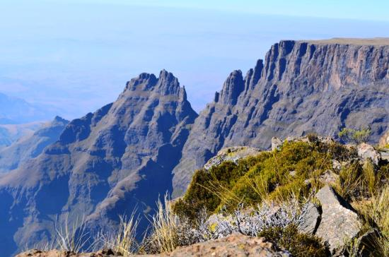 uKhahlamba-Drakensberg Park, Sudáfrica: The Drakensberg from above