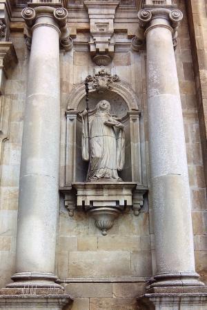 Monasterio de San Salvador: Détail de la façade
