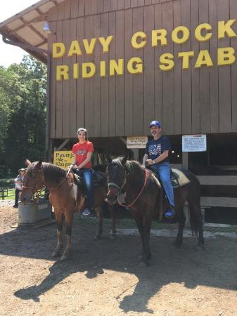 Townsend, TN: Davy Crockett Riding Stables, the best place to ride.