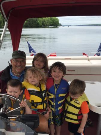 Όκλαντ, Μέιν: Captain Gary and all his Litte learners.