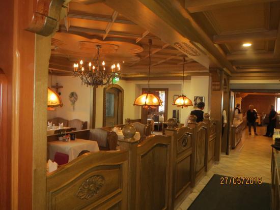 Restaurant Bild Von Bayerwaldhotel Hofbrauhaus Bodenmais