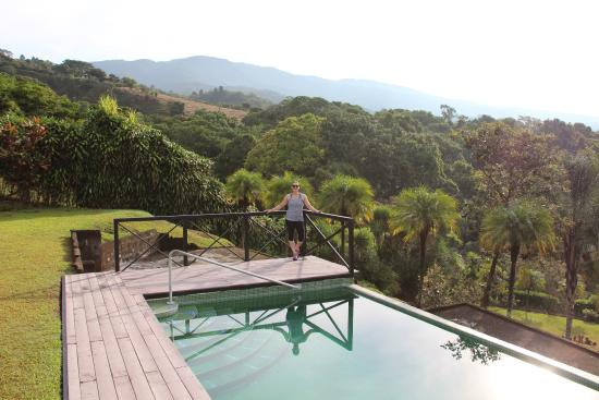 Grecia, Costa Rica: A peaceful setting, breathtaking morning views, a fantastic host, and there's dinner at night up
