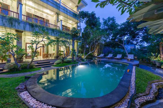 Padma Ubud Retreat: Our pool
