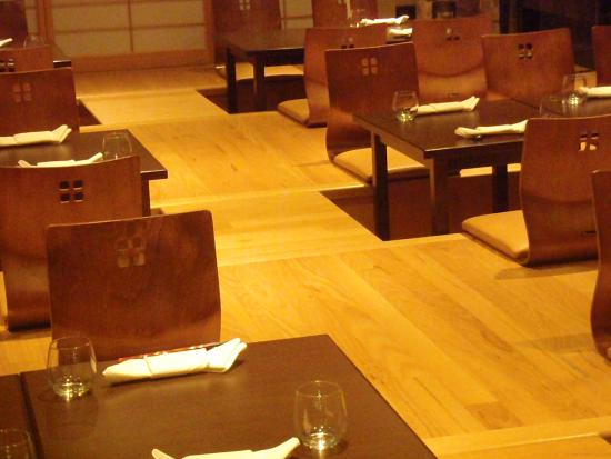 Ginza Miyako Japanese Restaurant Room With Sunken Seating There Are Normal Dining Tables Too