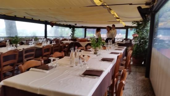 tavolate in veranda - Foto di Le Terrazze Sul Po, Borgoforte ...