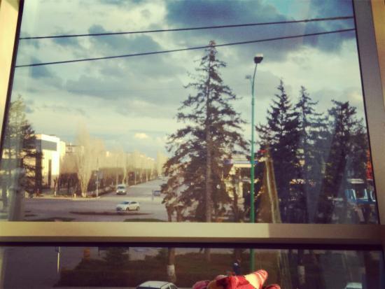 "Volzhsky, Rosja: Вид из окна ""Veranda"". Спутник, 2 этаж"