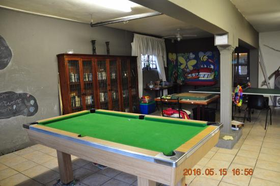Khaya La Manzi Lodge: Games Room
