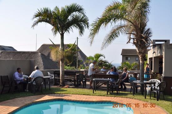 Hibberdene, Afrique du Sud : Pool entertainment area
