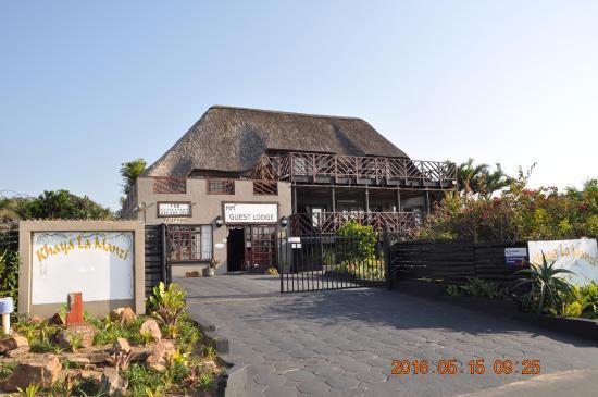 Hibberdene, Afrique du Sud : Front etrance