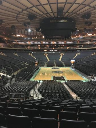 Madison Square Garden All Access Tour: Basketball Court Ready At Msg