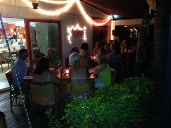 Noosaville, أستراليا: Outdoor dining