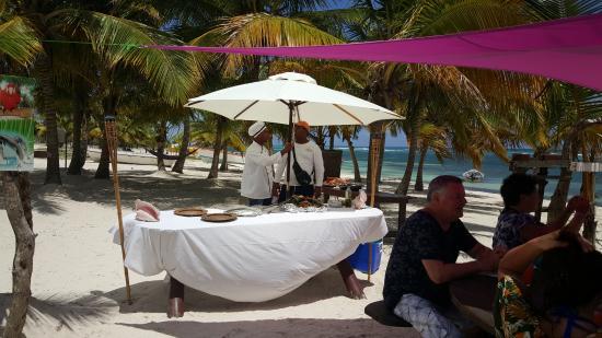 Bayahibe, Dominican Republic: repas du chef