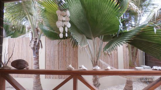 Bamboo Bali Bonaire Resort: vanaf patio heaven can wait
